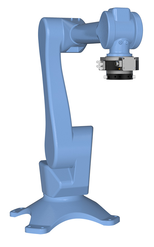 With Swivel Tool Changer